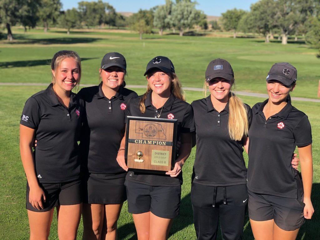 (Listen) Girls B-4 District Golf: Scottsbluff, Gering's Schlaepfer take home titles