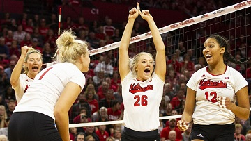 Stivrins powers Huskers past Hoosiers