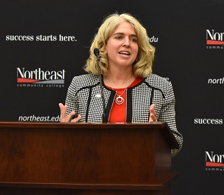 Barrett named ninth president of Northeast Community College