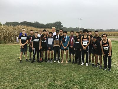High School Cross Country Results 10-9