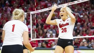 Huskers top Spartans 3-1