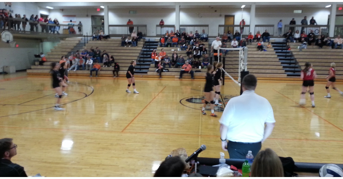 (AUDIO) Knights sweep Pendragons in High School Volleyball on the Bull