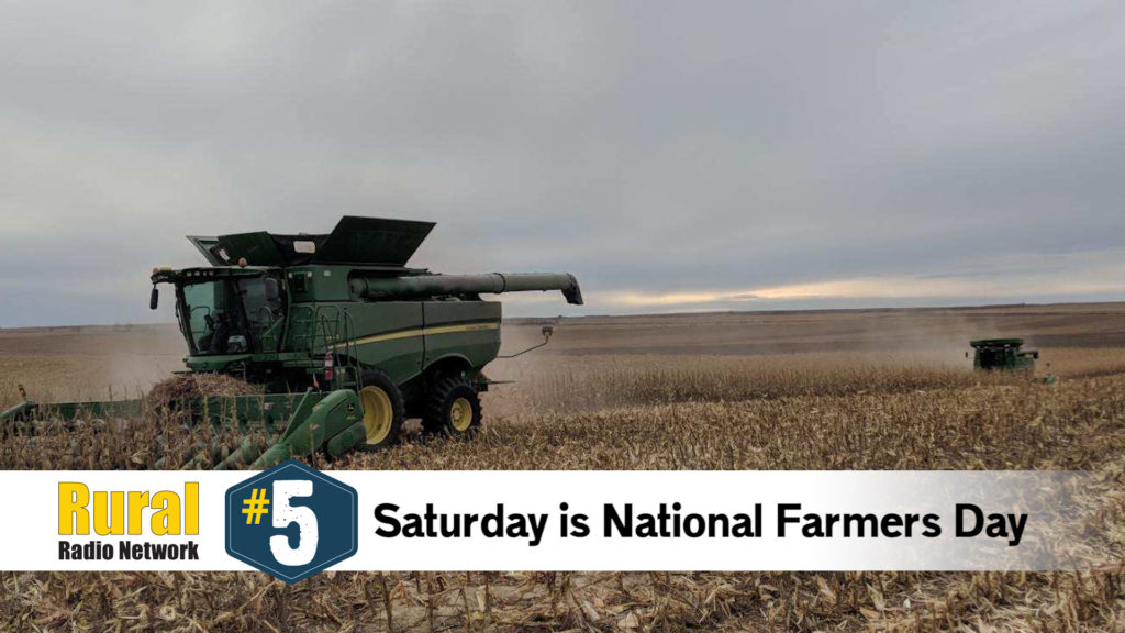 Celebrating National Farmers Day — Friday Five (Oct. 10, 2019)