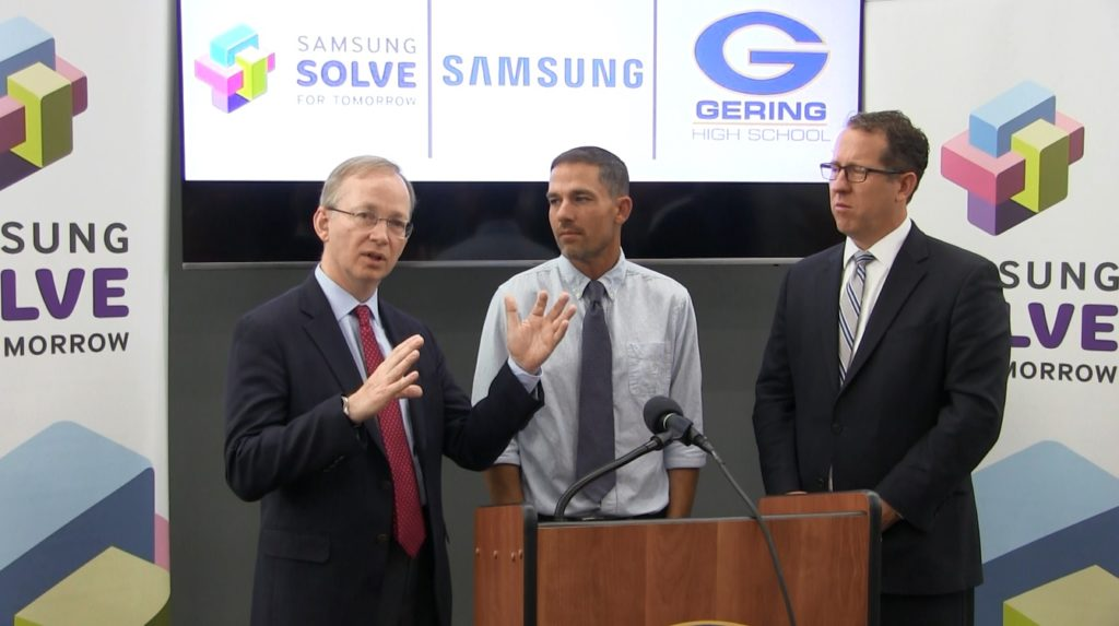 Samsung Visits GHS To Highlight Samsung Solve For Tomorrow Success