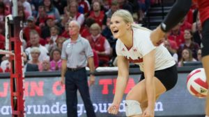 Husker VB set for trip to Maryland