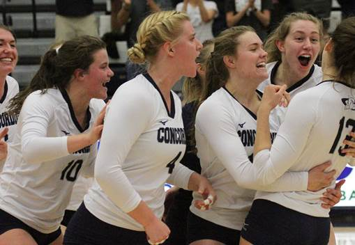 Concordia volleyball makes return to NAIA top 25