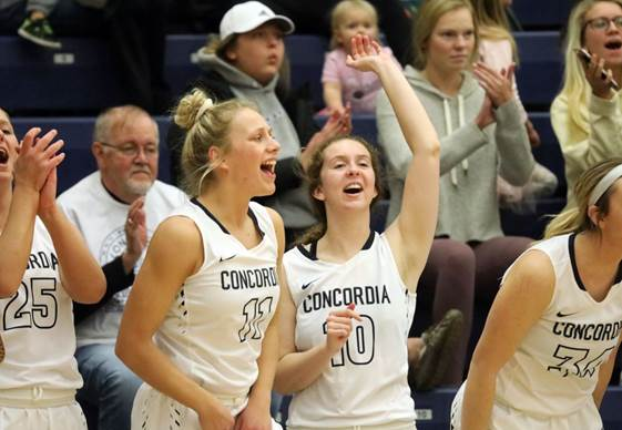 Top-ranked Concordia steamrolls No. 12 Sterling in opener