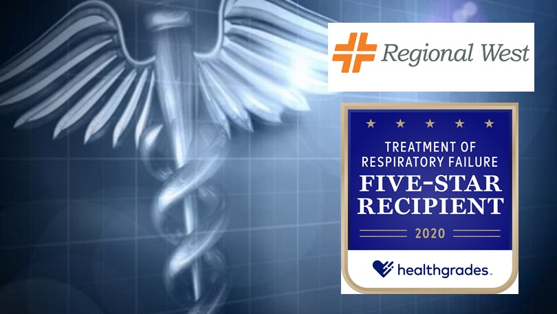 Regional West Is A Five-star Recipient for Respiratory Failure Outcomes for Four Years in a Row