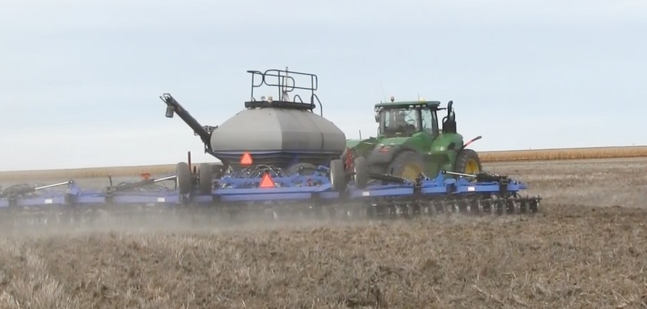 Nebraska wheat benefits from recent rain and snowfall
