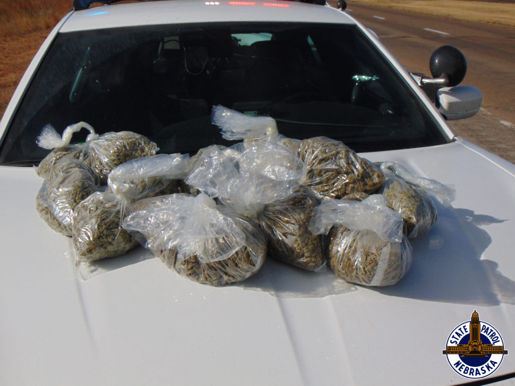 Troopers Find 134 LBs of Marijuana in I-80 Traffic Stops