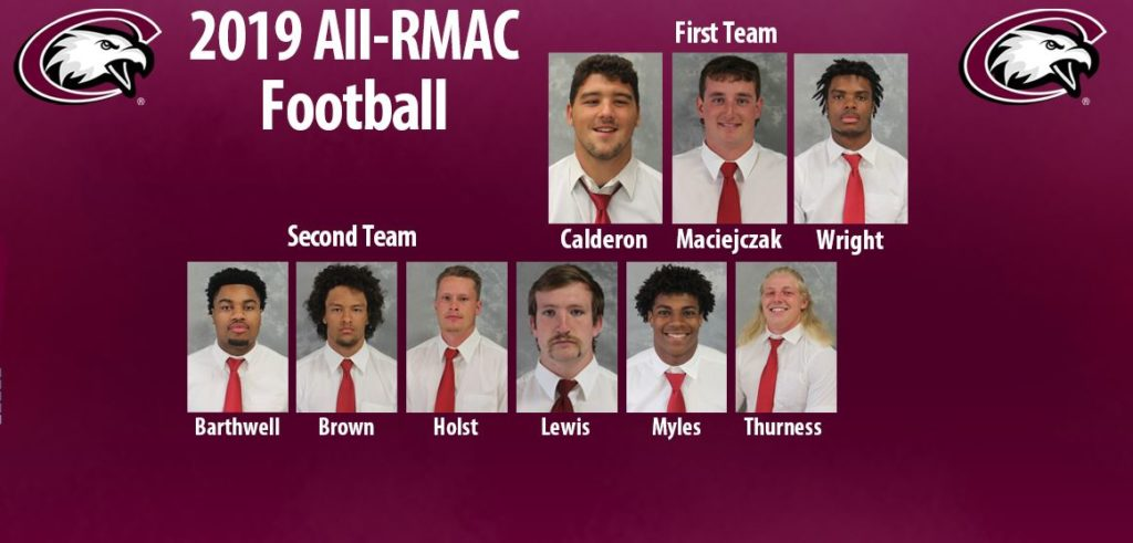 Nine Eagles named to All-RMAC football teams