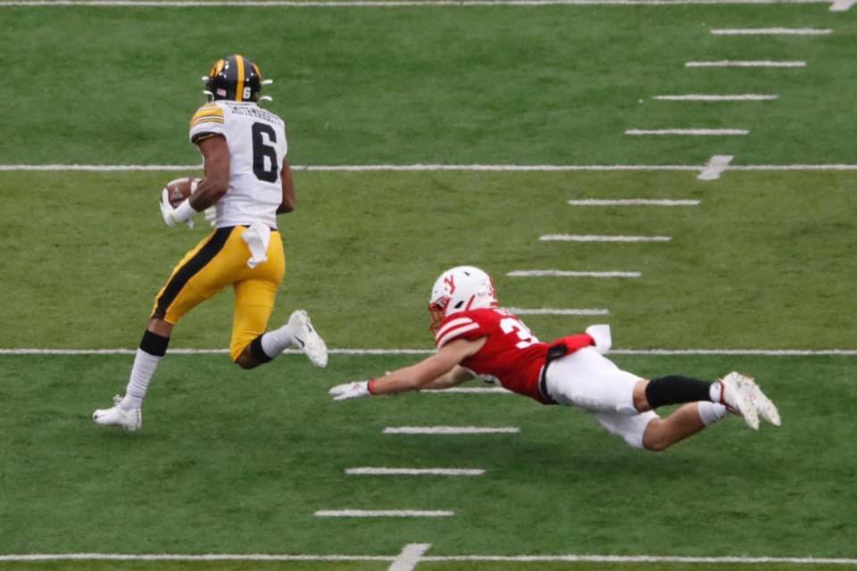 VIDEO: Late field goal lifts Iowa past Cornhuskers 27-24