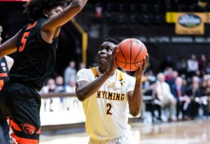Wyoming falls at home to Oregon State