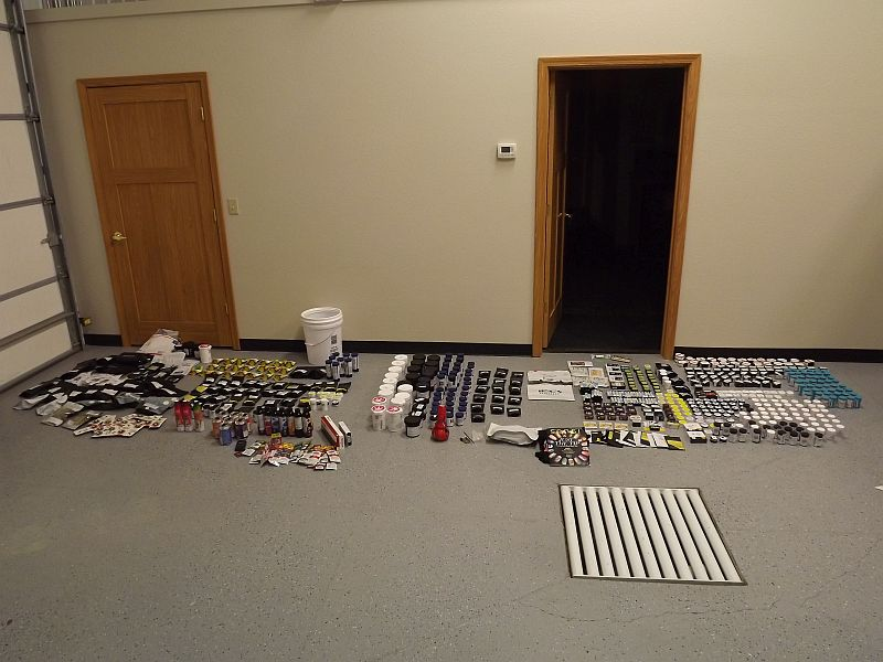 Hundreds of THC Products Found During Custer County Traffic Stop