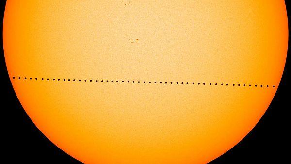Check out this rare celestial event using UNK telescopes