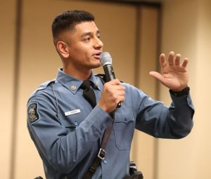 State trooper: Attending UNK was 'turning point in my life'