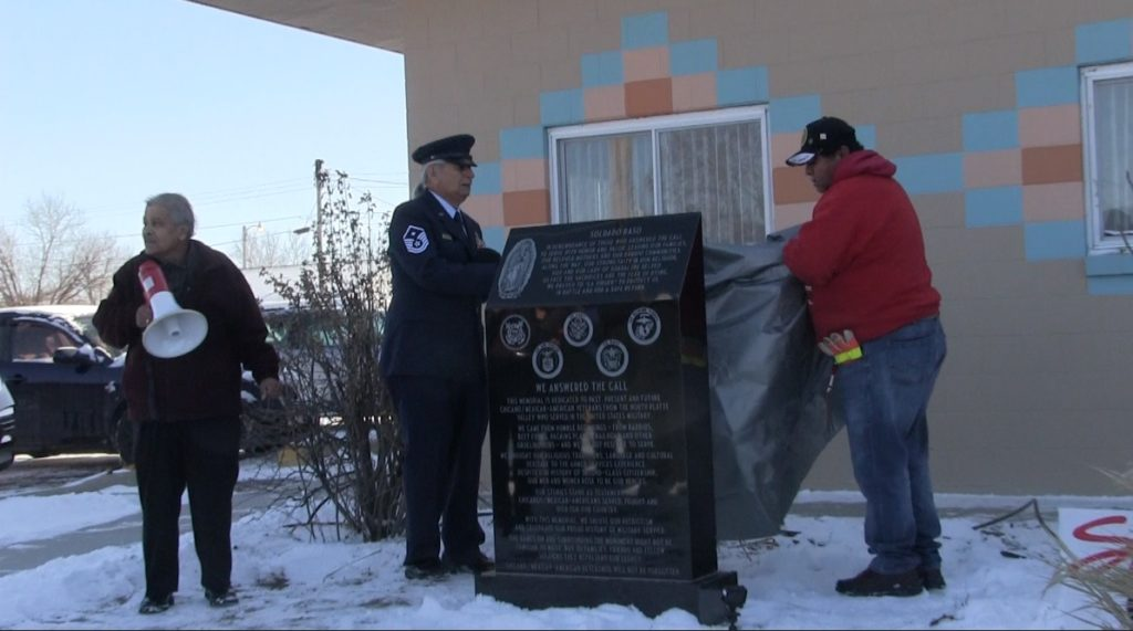 Memorial to Honor Chicano/ Mexican American Soldiers Unveiled in Scottsbluff