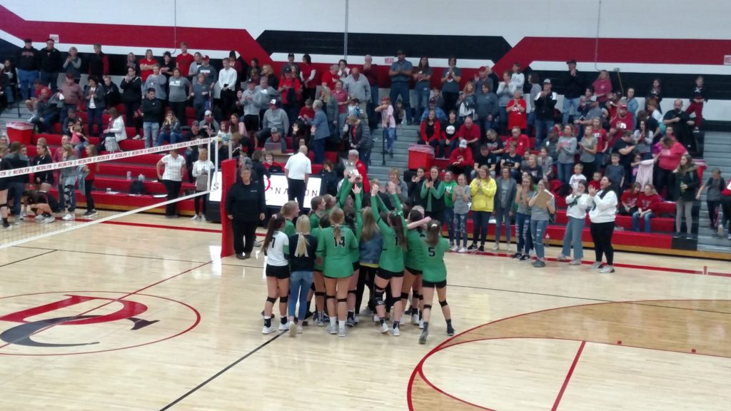 Wisner-Pilger Downs Mead for C2-6 District Volleyball Title