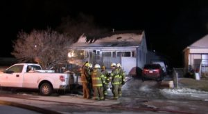 Gering Fire Displaces Family of Four