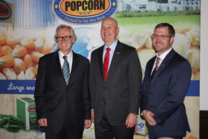 German Trade Mission Preferred Popcorn Contract Signing