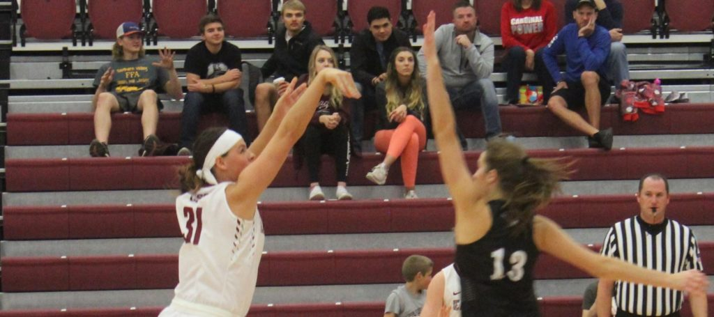 Eagle women grind out win in opener