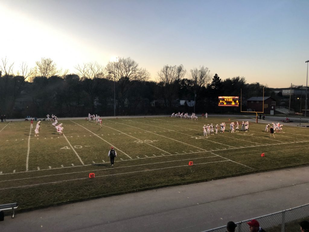 (Listen) Jud Hall postgame interview from Scottsbluff's win over Roncalli