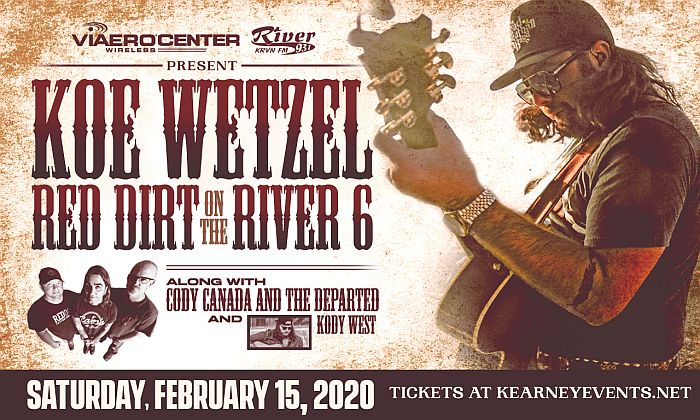 Red Dirt on The River 2020 line-up announced