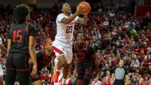 Huskers Fall in Final Seconds