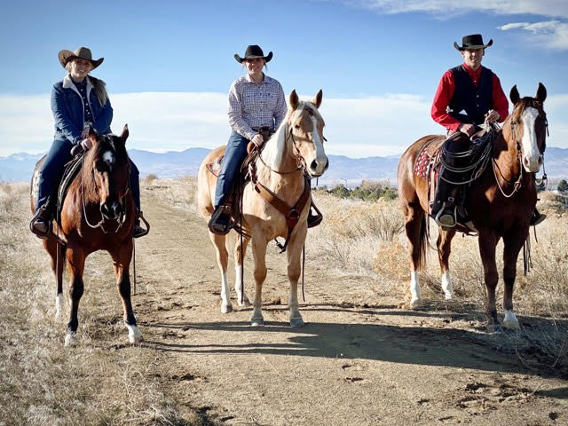 Aggies show ranch horses in Colorado