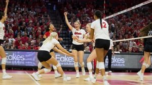 VIDEO: Huskers Open NCAA Tournament Against Ball State
