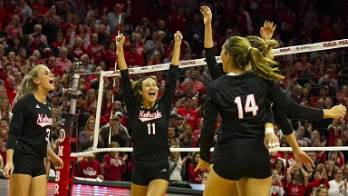Huskers outlast Nittany Lions in five