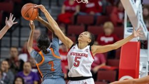 Husker Women cruise past Morgan State