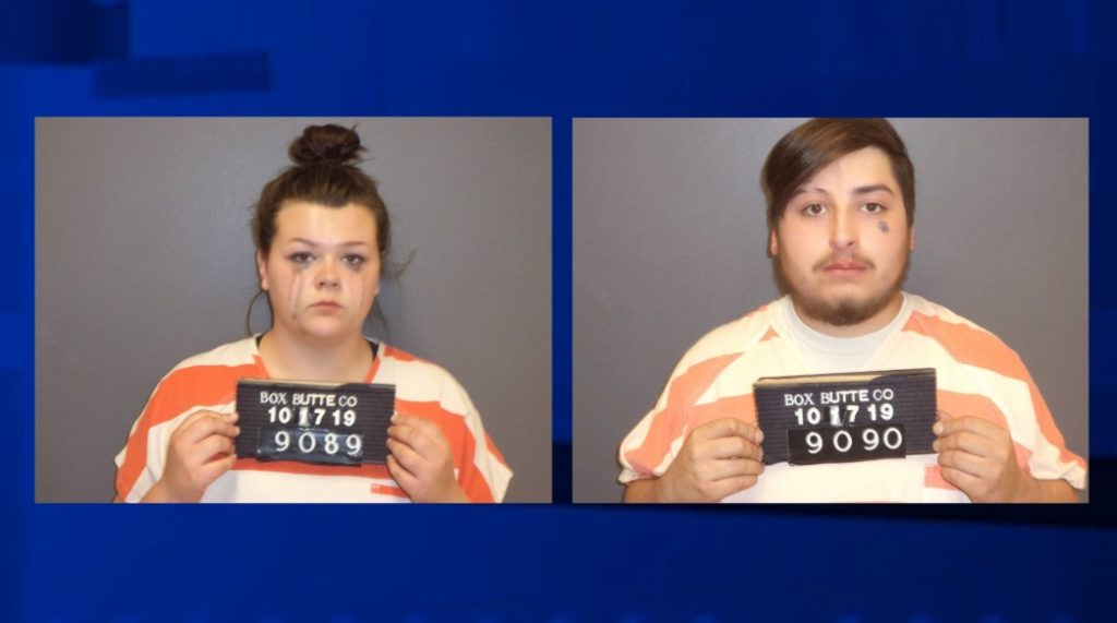 Ogallala Couple Facing Box Butte County Drug and Weapons Charges