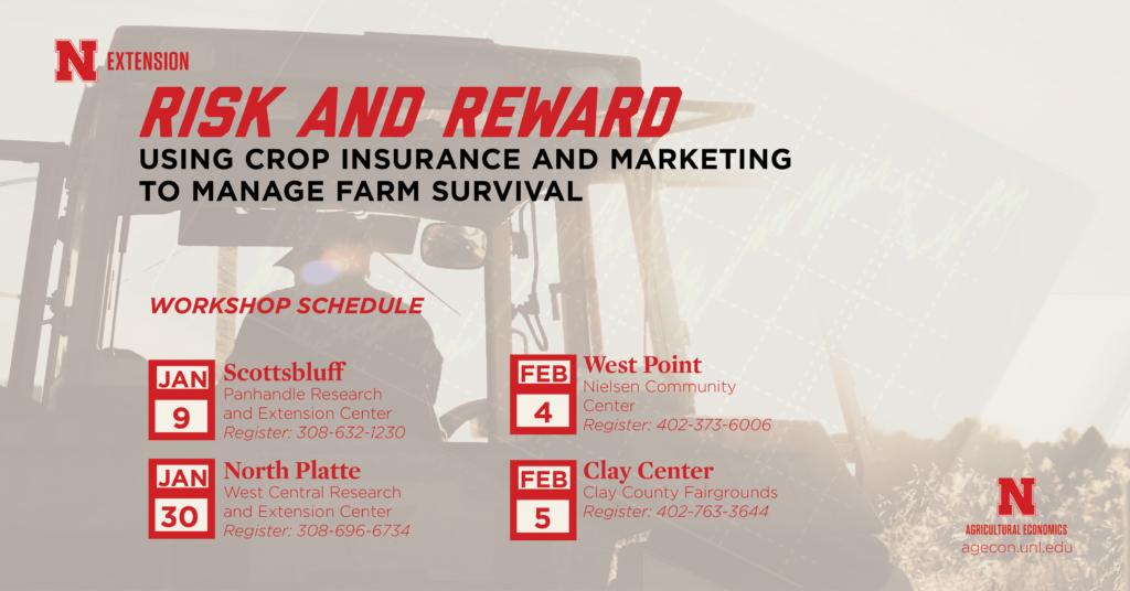 Farm survival workshop on crop insurance and marketing in your area