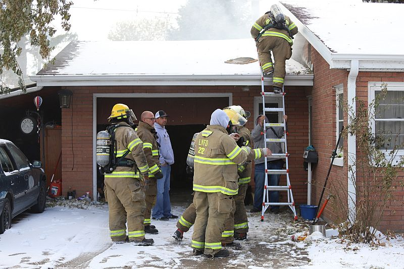 Wiring in ceiling led to house fire in Lexington