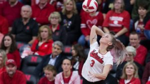 Husker volleyball heads to Michigan State