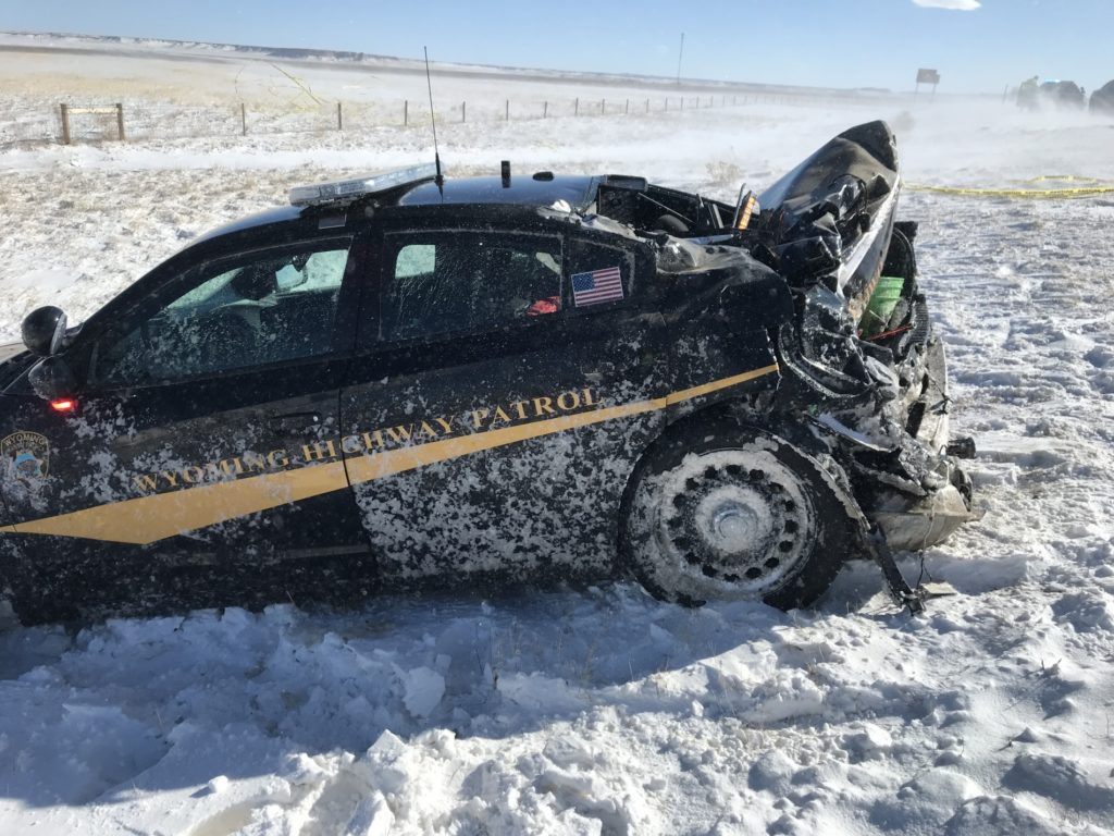WHP Trooper Injured In Two-Vehicle Collision