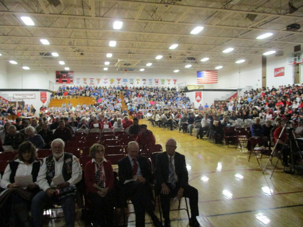 (AUDIO) West Point-Beemer holds annual Veterans Day Program