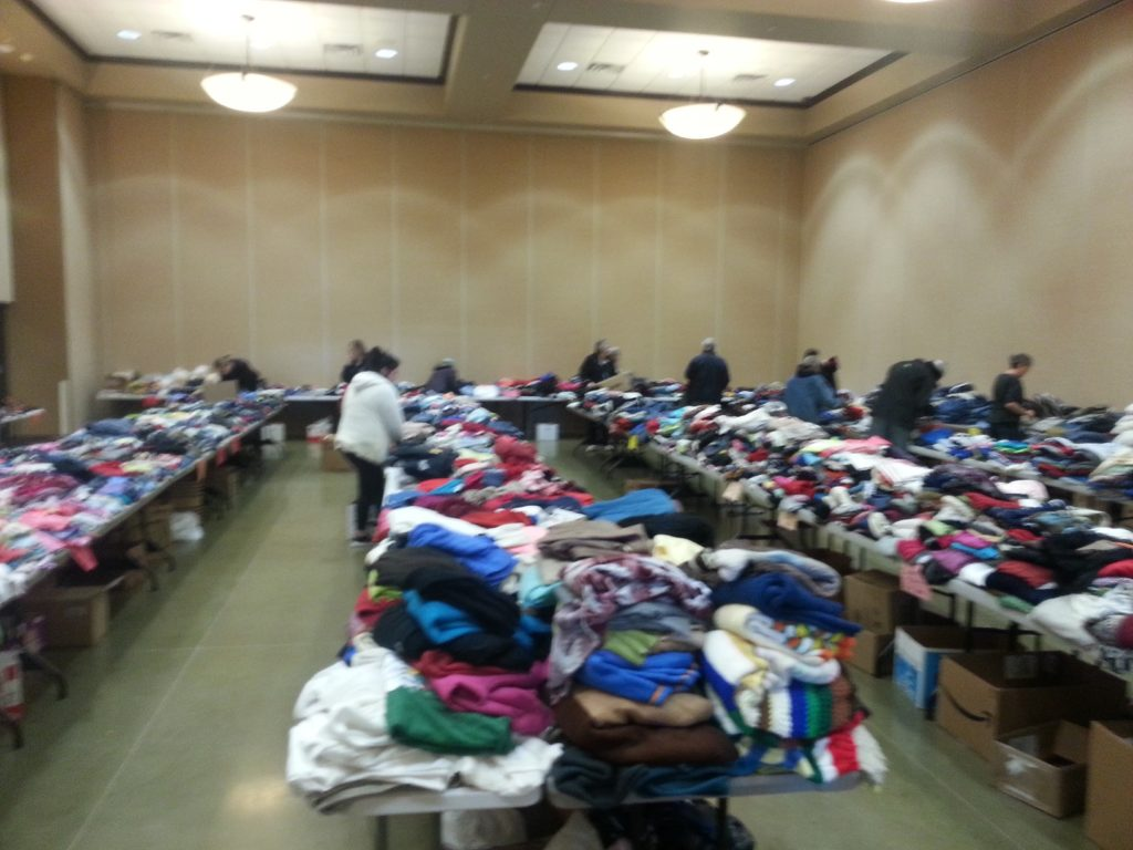 (AUDIO) West Point Optimist Club Annual Clothing Drive a Success