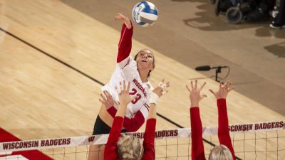 Wisconsin Sweeps Nebraska Again