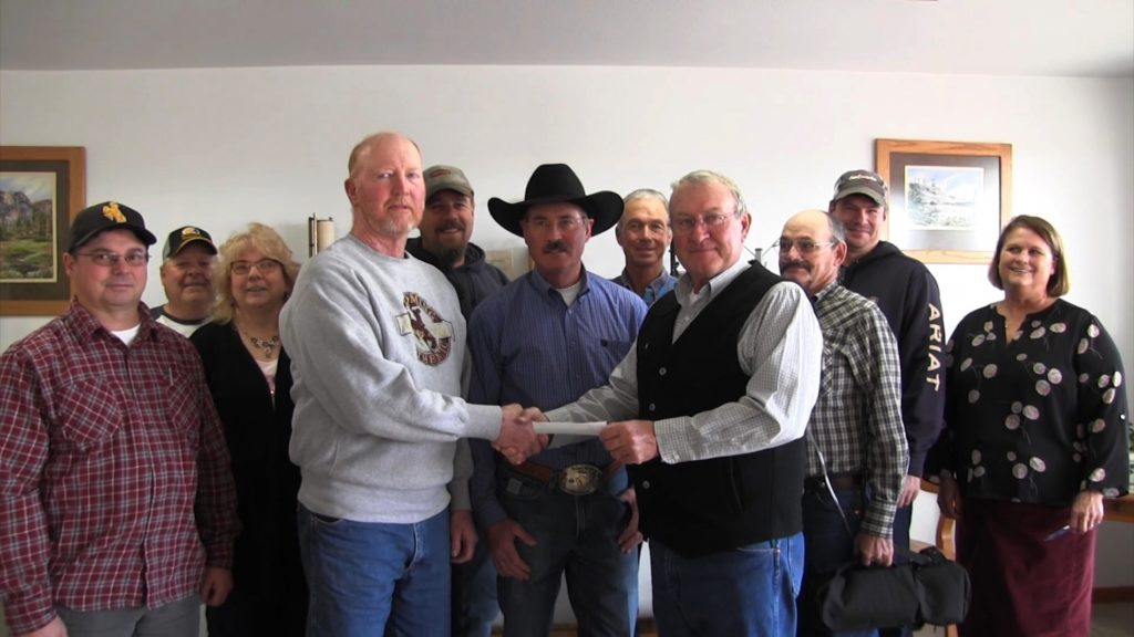 Goshen Irrigation District receives 131K from the Art & Pat Damrow Trust