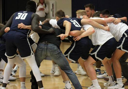 Kent basket, defensive stop keys last-second upset of No. 9 Benedictine