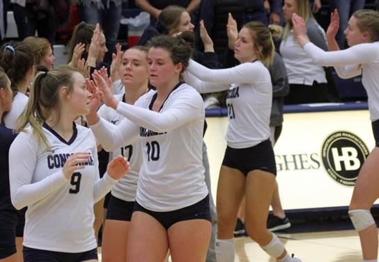 Wiltfong goes for 19 kills, Bulldogs top DWU on senior day