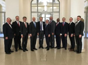 Ricketts meets with top trade officials in Berlin