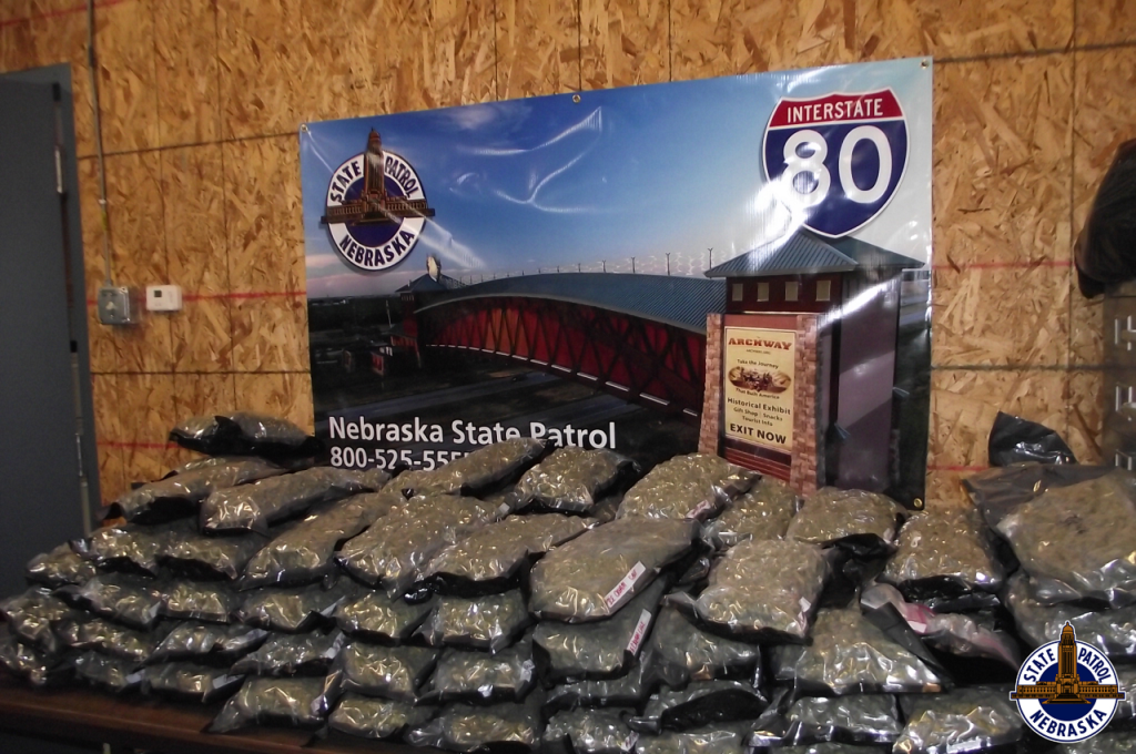 Troopers Find 211 LBs of Marijuana in I-80 Traffic Stops