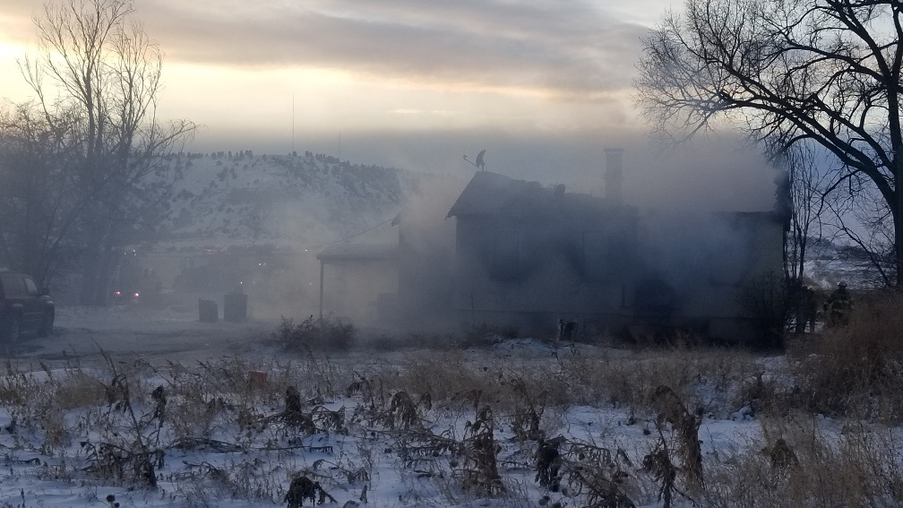 Rural Scotts Bluff Co. Home Destroyed by Fire