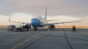 Air Force Two Appears in Panhandle Skies for Training Mission
