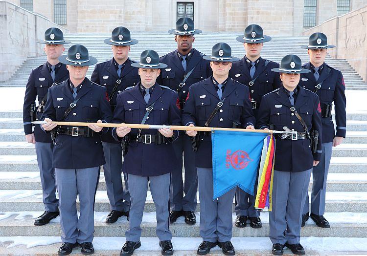 Nebraska State Patrol Graduates 61stRecruit Class