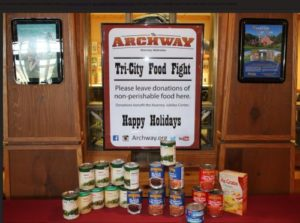 Tri-City Food Fight Helps Everyone to Have a Happy Holiday