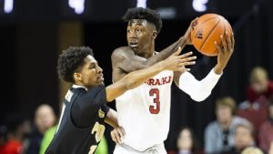 Mack's Triple-Double helps Huskers past Boilermakers